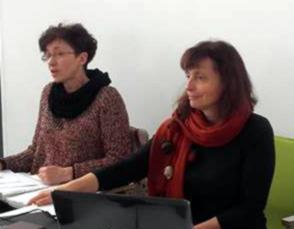 Anna Paluch i Elżbieta Drewniak-Wołosz