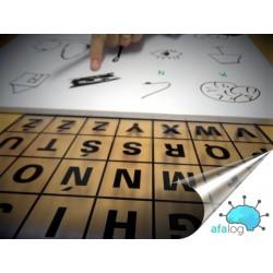 Alfabet - tabliczka A4