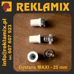 DYSTANS ~25mm MAXI biały